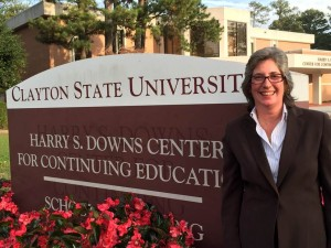 Donna Mullins at Clayton State University